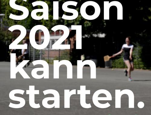 Saison 2021 kann starten